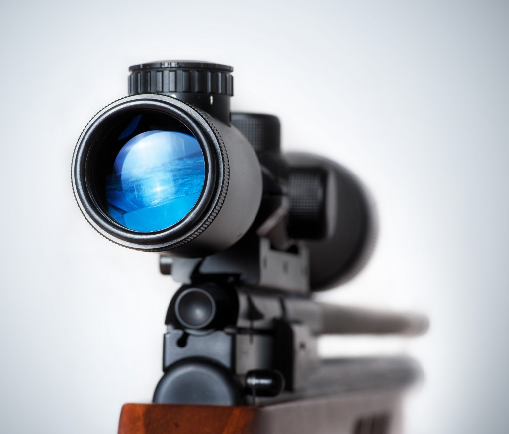 rifle scope with night vision
